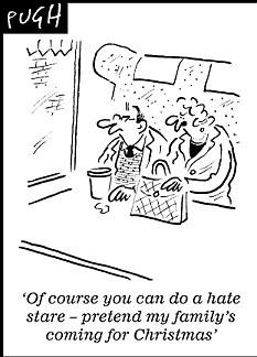 Pugh's take on the 'hate stare'