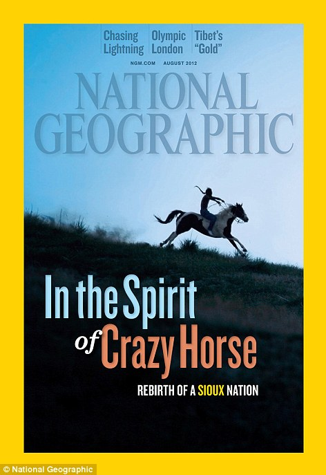 The US August edition of National Geographic explores the rebirth of the Sioux Nation and the challenges it faces