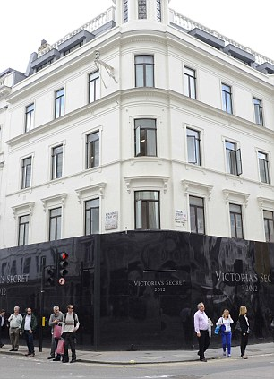 Victoria's Secret will open on the corner of New Bond Street and Brook Street in London's West End
