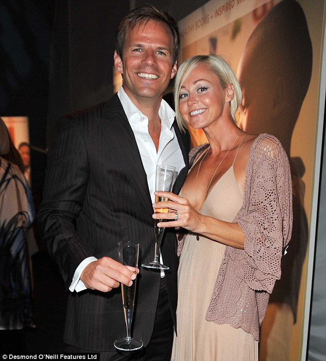 Split: Footballers' Wives star Ben Richards has split from wife Helen after 15 years of marriage, it has been revealed