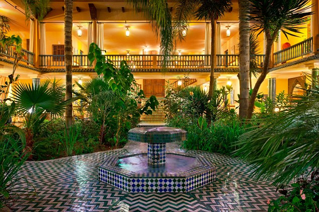 Two stays by Home Office staff to the 4-star Villa Mandarine in Rabat, Morocco cost £1,900