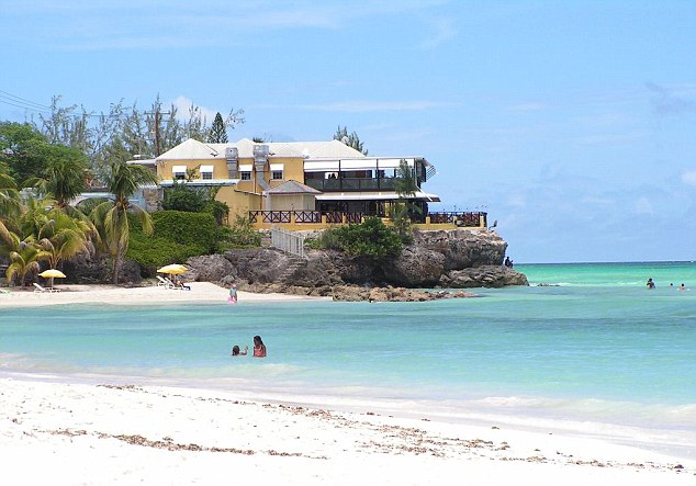 According to new government statistics, Home Office staff stayed at the luxury Accra Beach Hotel in Barbados earlier this year, at a cost of £650