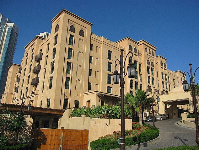 A stay at the boutique Qamardeen Hotel in Dubai by Home Office staff cost £825