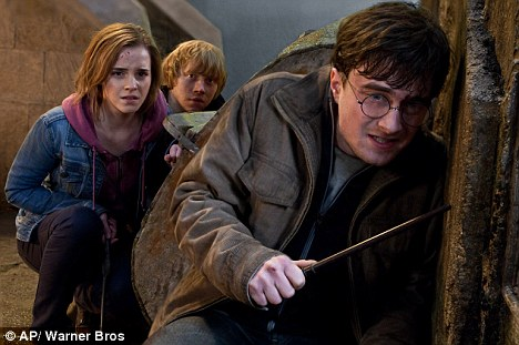 Huge success: The Harry Potter films became the highest-grossing series of all time, but movie bosses wanted to turn the story into that of an American teenage drama