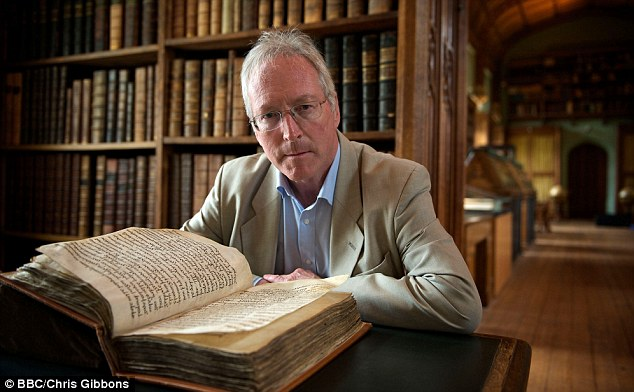 Furious: TV historian Diarmaid MacCulloch (pictured) has described plans by the Law Society to sell off a 5,000-strong collections of medieval documents and books as an 'act of vandalism'