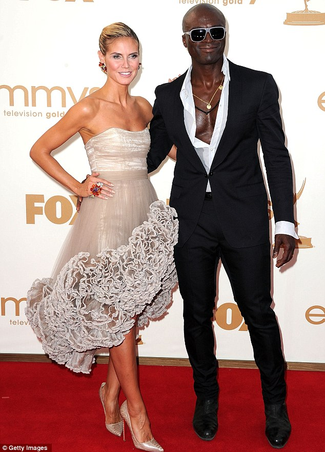 Happy days: Heidi and Seal seemed like the ideal showbusiness couple but everything was not as it seemed