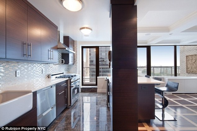Design: Frank Sinatra helped to design the place, pictured, and lived there from 1961 to 1972, but these days it looks quite a bit different