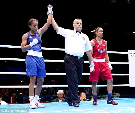 Let's hear it for the girl;! Jonas is confirmed as the winner of her bout