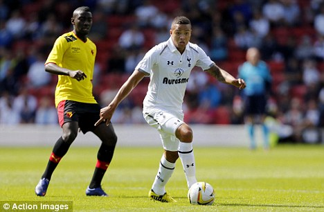 Remember me: Injury-hit Jermaine Jenas got some important minutes under his belt against Watford