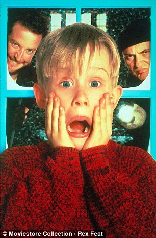 Rich at 10: The former child star made $70,000 for the first Home Alone movie and £3 million for the sequel