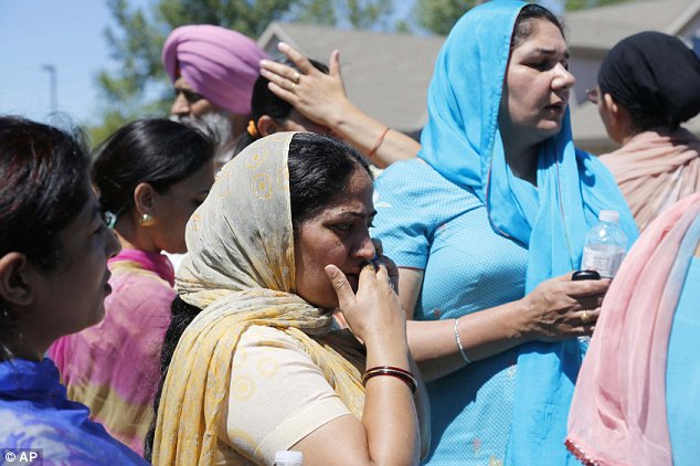 Horror: Sikhs have long feared a backlash from people who confuse them with jihadi terrorists