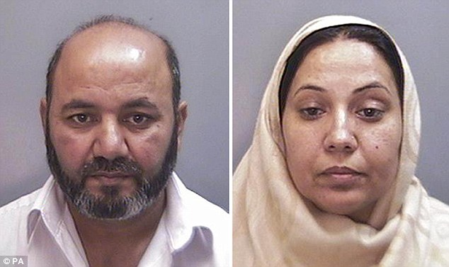 Honour killing in the UK: Iftikhar Ahmed, 52, and his wife Farzana, 49, of Warrington, Cheshire, suffocated their 17-year-old daughter Shafilea with a plastic bag