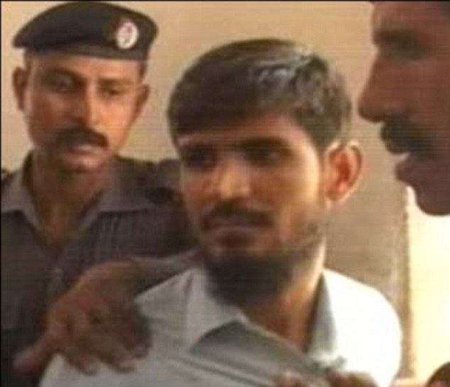 Javed Iqbal Shaikh used his lawyer's coat to smuggle the firearm into the courtroom. He was arrested at the scene and charged