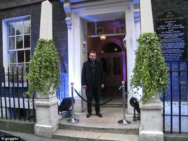 Location: House of St. Barnabas-in-Soho on Greek Street where Michael Phelps picked up a mystery blonde