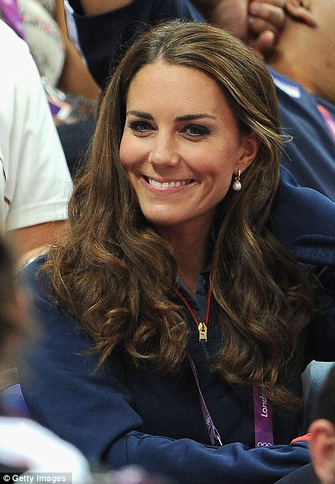 The Duchess of Cambridge attended the Artistic Gymnastics Men's Pommel Horse Final on Day 9 of the London 2012 Olympic Games at North Greenwich Arena