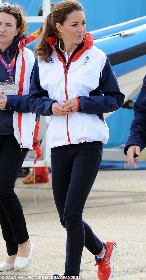 The Duchess of Cambridge in Weymouth