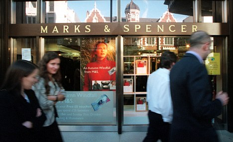 Royal lunch: Prince Harry was spotted perusing the sandwich aisle at this branch of Marks & Spencer in High Street Kensington.