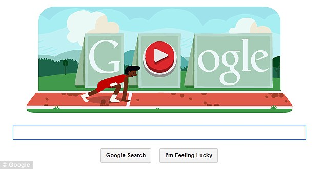 On your marks, get get, search! Google challenges you to get a Gold medal while simultaneously avoiding your boss
