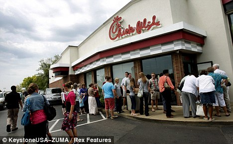 Political: While thousands backed Chick-fil-A Appreciation Day, furious gay rights advocates called for a boycott of the chain