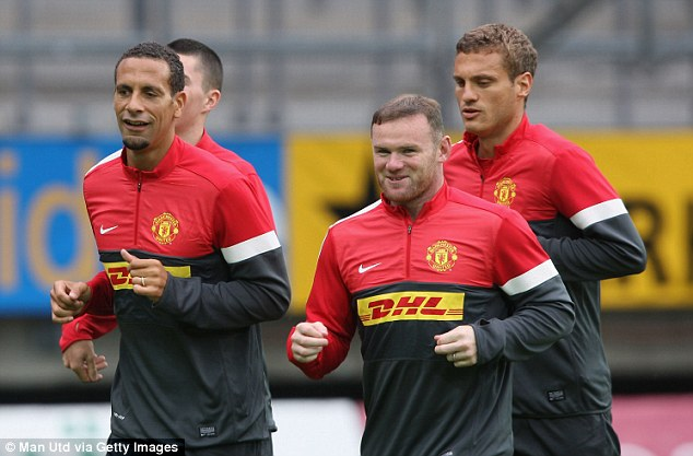 Goal-shy: Nemanja Vidic is unconcerned that his team-mates have struggle to score many goals in pre-season