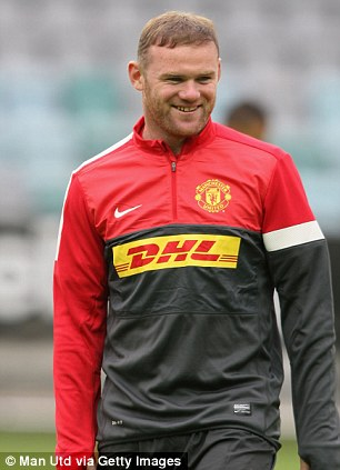 The goals will come: Vidic believes the likes of Wayne Rooney will start scoring when it matters most