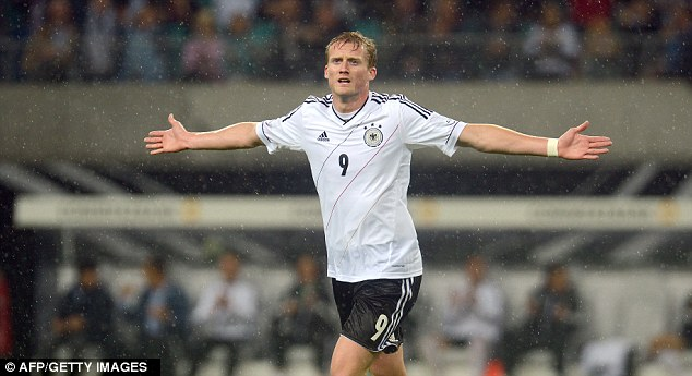 Rising star: Andre Schurrle impressed in Euro 2012