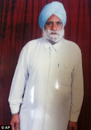 Suveg Singh Khattra was among the dead in Sunday's shooting at a Sikh temple in Oak Creek