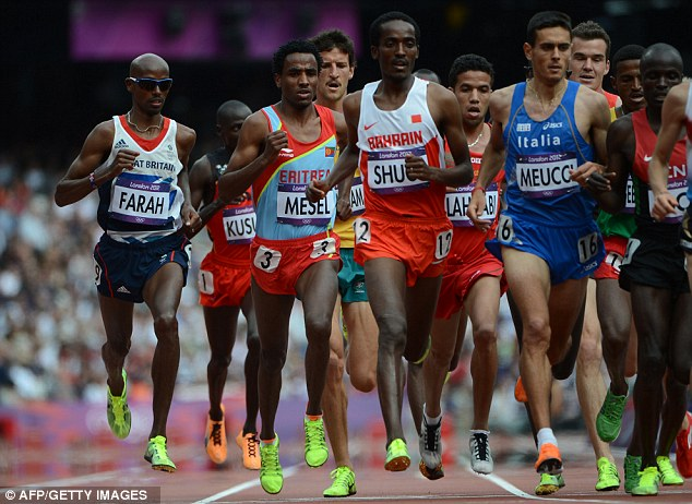 Two good: Mo Farah is on course to win a second gold medal after reaching the 5,000m final