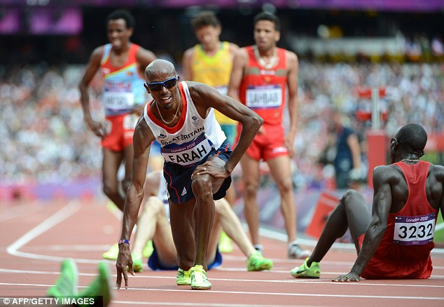On track: Mo Farah is safely through to the final of the 5,000m