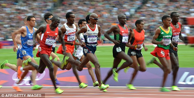 Tactics and timing: Mo Farah made sure he did just enough to qualify for the final of the 5,000m final