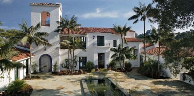 Living in luxury: This Montecito, California home hosted the August, 2011 nuptials of Kim Kardashian and Kris Humphries