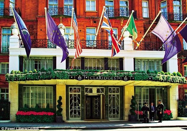 Claridge's in London, where Israel met Nichols