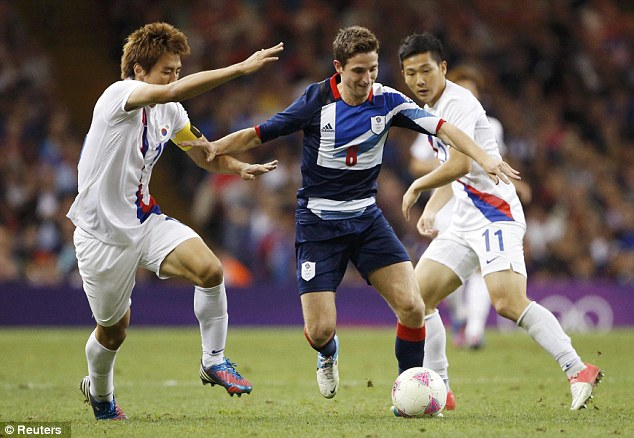 Centre of attention: Allen has completed his protracted move to Liverpool