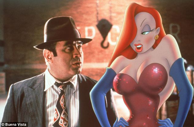 Silver screen: Bob Hoskins, whose acting career has spanned four decades, is famous for his roles in much-loved films such as Who Framed Roger Rabbit, pictured