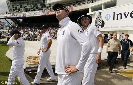 Stand off: Pietersen is at loggerheads with the ECB