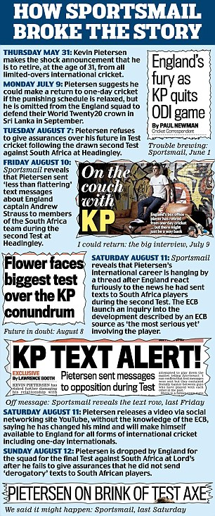 KP: How we broke the story