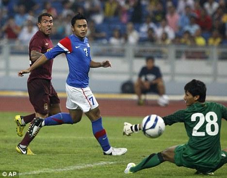 Goal time: Tevez stikes in pre-season