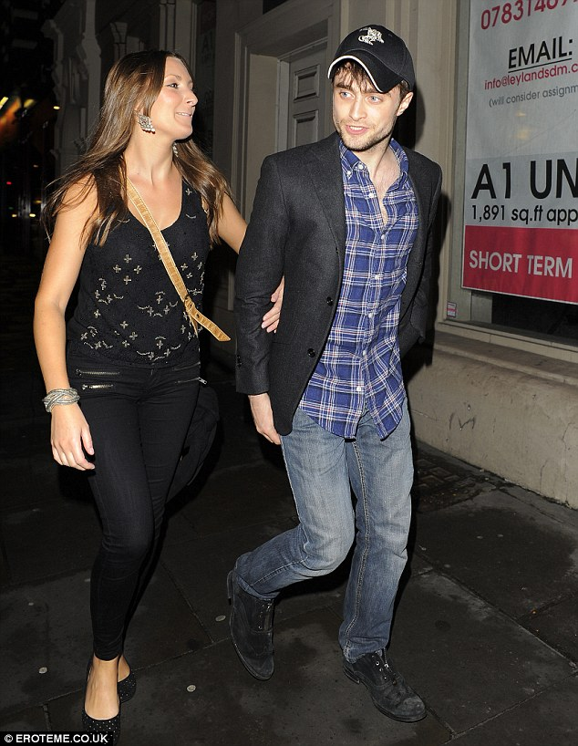 Cast a spell on you: Daniel Radcliffe spotted arm in arm with mystery brunette