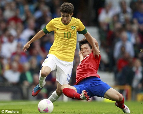 Oscar's performances for Brazil in the Olympic tournament have whet the appetite ahead of the new season