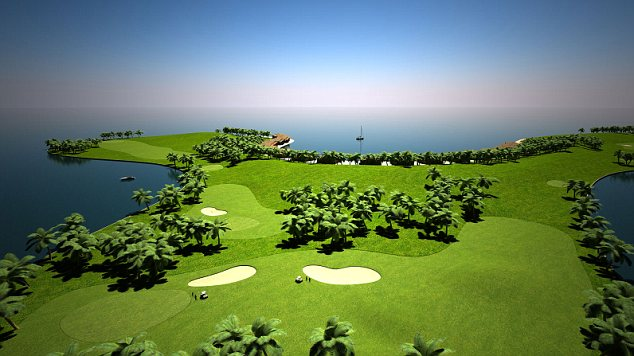 Watch out for the water hazards: The plans include an 18 hole golf course designed by Troon, complete with clubhouse