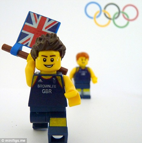 The Lego Brownlee brothers take gold and silver in the triathlon