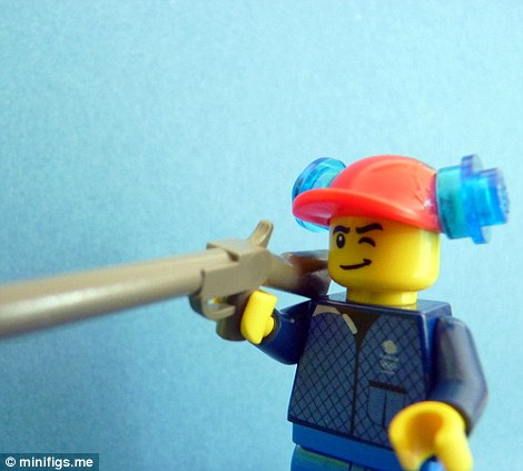Lego Peter Wilson's crack shot bagged him a gold medal