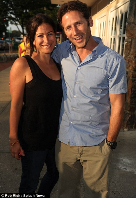 Another glamour couple: Mark Feuerstein was there with his wife Dana
