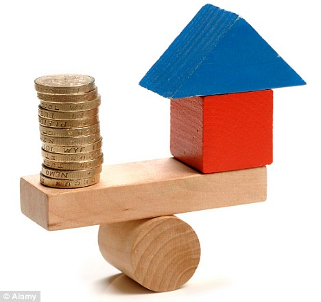 Right balance: Homeowners are having to reduce prices in order to gain a sale, research has indicated