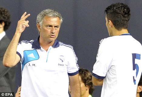 In the frame: Rodgers is hoping his good relationship with Jose Mourinho will help him in his pursuit to sign Nuri Sahin