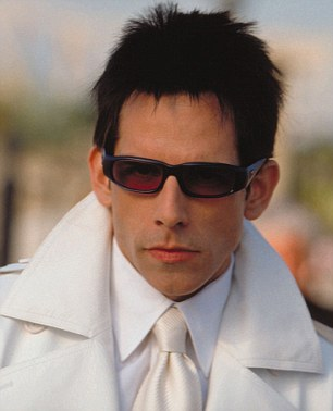 Giving his best Blue Steel: Ben Stiller in the title role in 2001 film Zoolander
