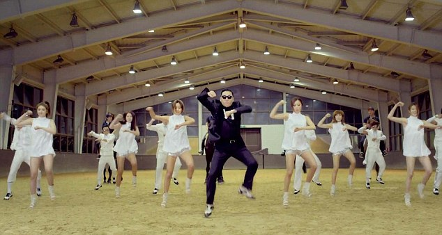 Unique: Psy's moves have become so popular, even presidential candidates are copying them