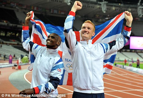 Leap of faith: Rutherford was crowned Olympic champion earlier this month