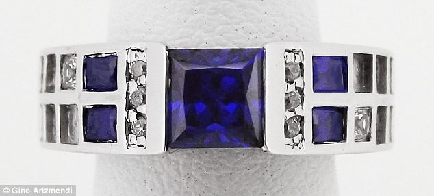 Prices for the intergalactic-inspired pieces start at £240 ($380) for a Stirling Silver ring set with Cubic Zirconium and go up to £6345 ($9950)