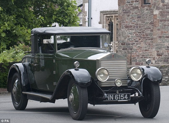 A 1923 Rolls-Royce 20hp Doctor's Coupe by Mitchells of Nottingham. The specialist museum, in Porlock in Somerset, was set up by Mr Johns when he moved to the West Country 12 years ago